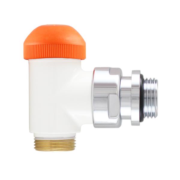 HERZ-TS-98-V thermostatic valve, angle model