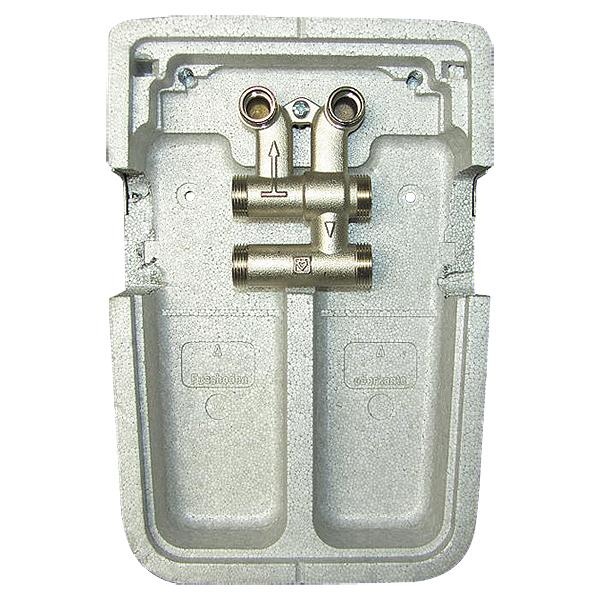 HERZ-Sockelverteiler für Zweirohranlagen
