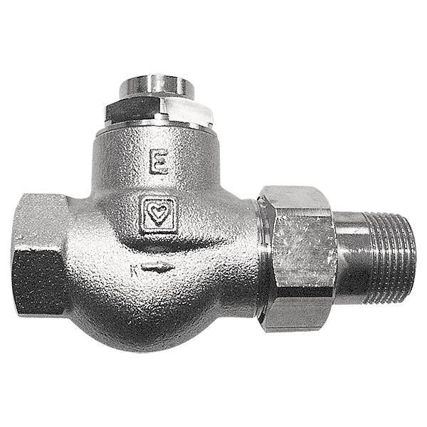 HERZ-RL-1-E return valve - straight model