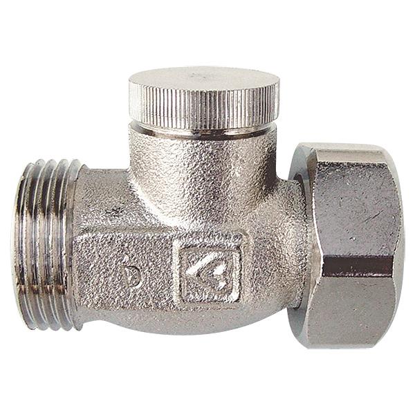 Клапан запорный ГЕРЦ-RL-1, проходной для двухтрубной системы