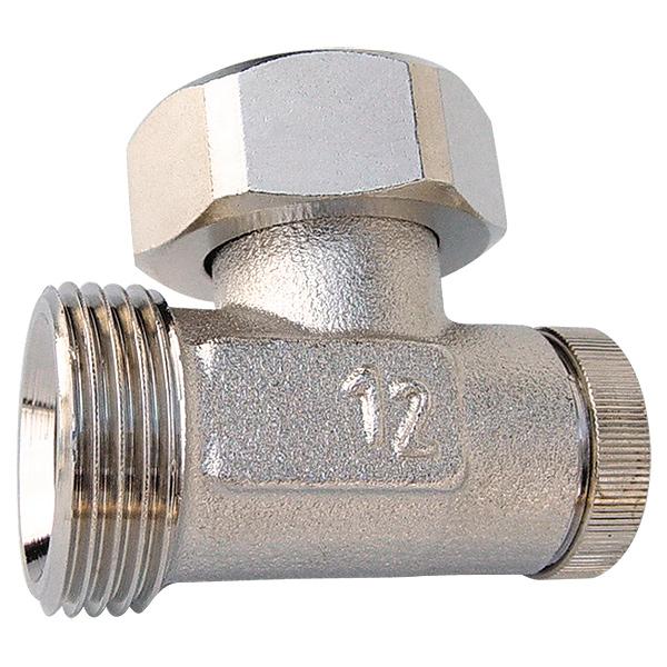 HERZ-RL-1 single shutoff valve - angle model for two-pipe operation