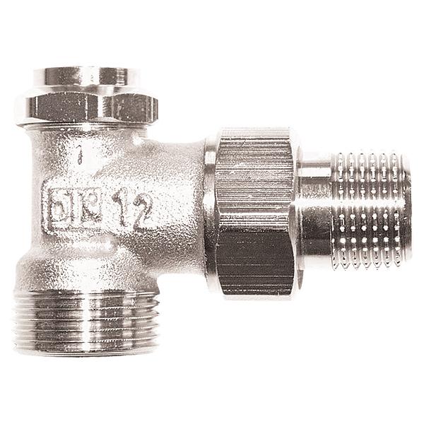 HERZ-RL-5 return valve - angle model 1/2