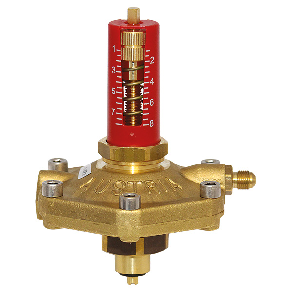 Differential pressure controller upper part