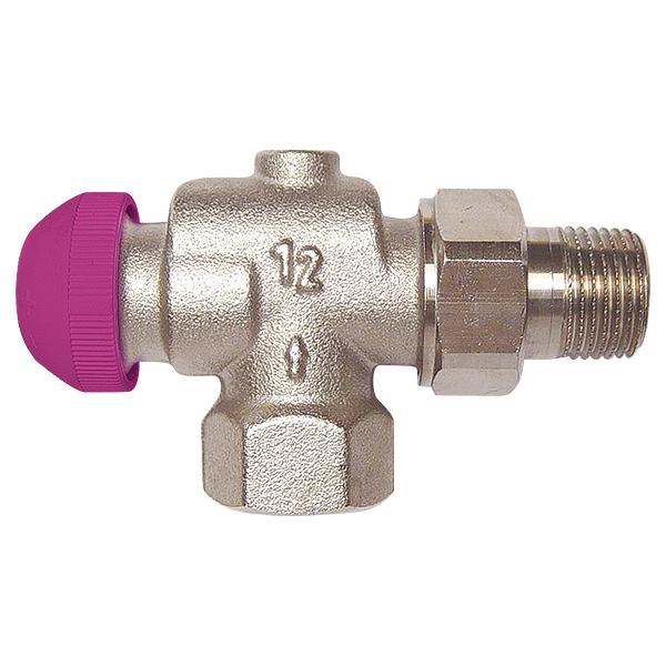 Термостатический клапан ГЕРЦ-TS-99-FV угловой осевой специальный