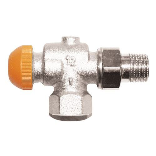 HERZ-TS-98-V thermostatic valve - reverse angle model
