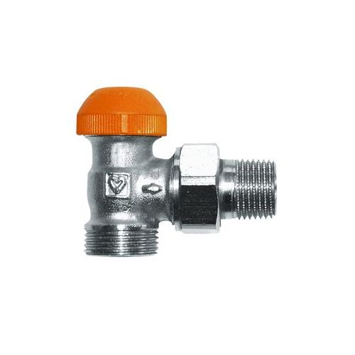 HERZ-TS-98-V thermostatic valve - angle model