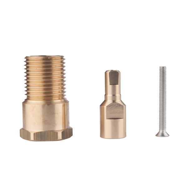 Spindle extension for HERZ Flush ball valves