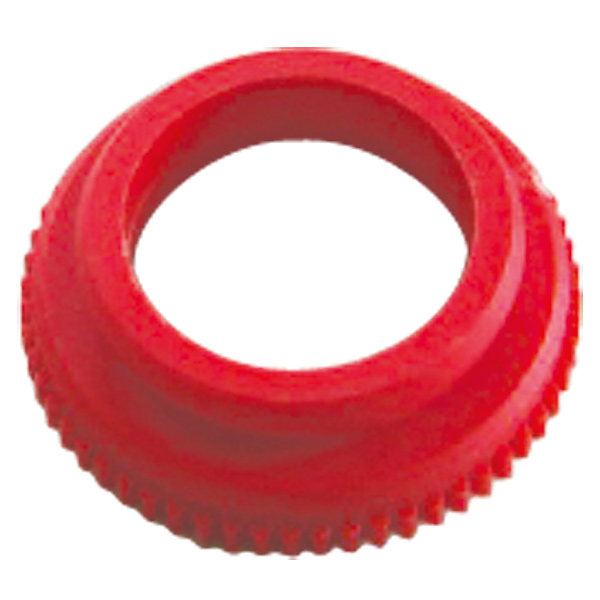 Adapter for HERZ actuating drive, colour red
