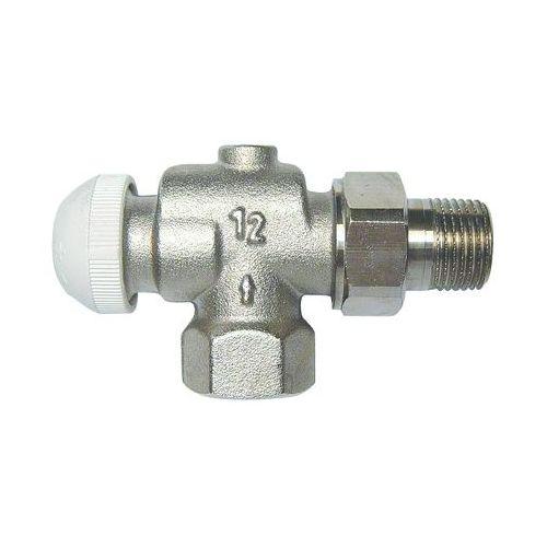 Термостатический клапан ГЕРЦ-TS-90- КV угловой осевой специальный, размер 1/2
