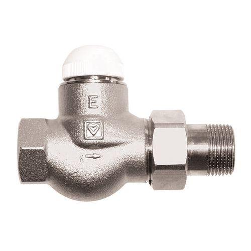 HERZ-TS-E thermostatic valve - straight model