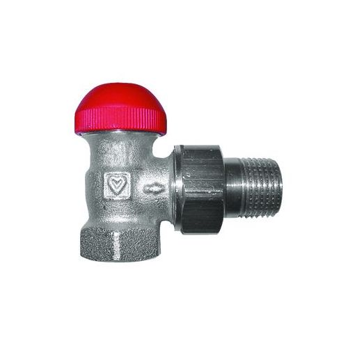 HERZ-TS-90-V thermostatic valve - angle model