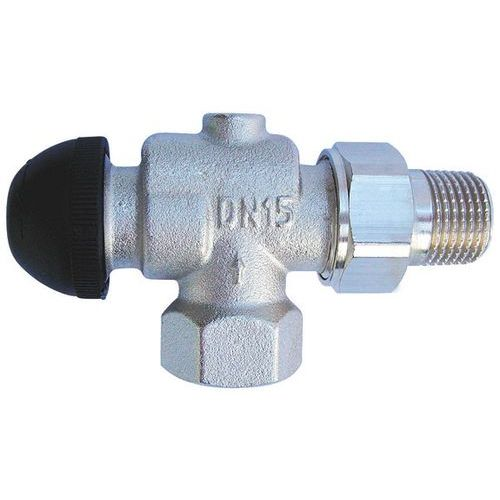 Термостатический клапан ГЕРЦ-TS-90-H, угловой, осевой специальный