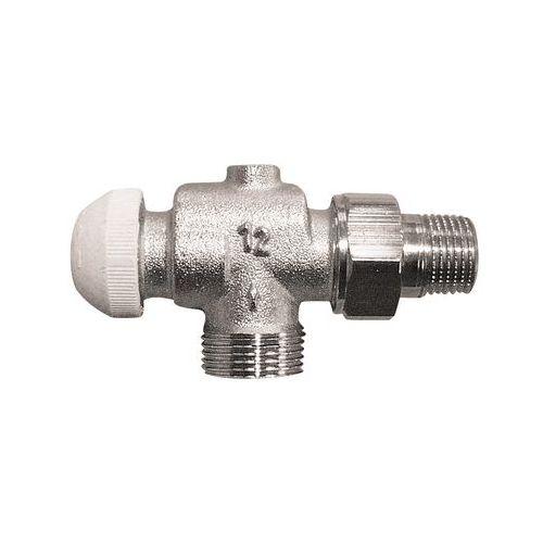 Термостатический клапан ГЕРЦ-TS-90 угловой осевой специальный, размер 1/2
