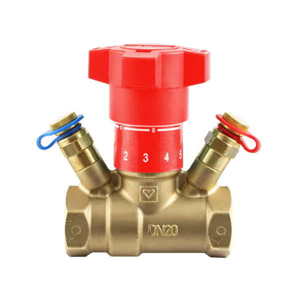 STRÖMAX-GN, commissioning valve for differential pressure measurement with straight body
