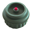 Adapter for HERZ actuating drive, colour grey, tappet red