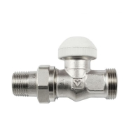 HERZ-TS-90 thermostatic valve - straight model