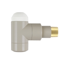 HERZ-TS-90-Thermostatventil DE LUXE, Eckform
