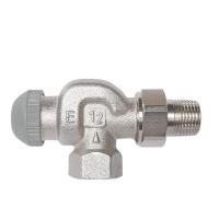 Термостатический клапан ГЕРЦ-TS-90-Е угловой осевой специальный
