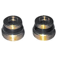 Connection nipple flat seal, set of 2