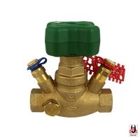 HERZ-балансировочный клапан с измерительными клапанами для систем питьевого водоснабжения, с линейной характеристикой