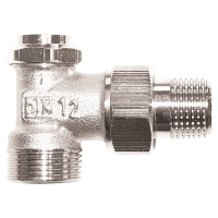 HERZ-RL-5 return valve - angle model 1/2