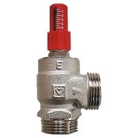 ГЕРЦ-клапан перепускной, для поддержания перепада давления, угловой