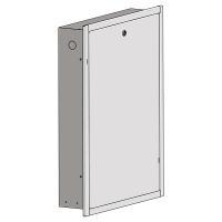 Unterputzkasten für HERZ Wohnungsübergabestationen mit Frontrahmen und Fronttüre