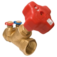 HERZ commissioning valve with integral orifice