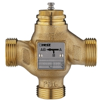 3-port mixing and diverting valve