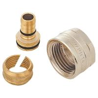 Kunststoffrohranschluß G 1/2 mit Doppel-O-Ring und Isolierscheibe