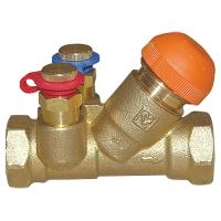 ГЕРЦ-балансировочный и регулирующий клапан, с наклонным шпинделем
