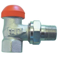 HERZ-TS-98-V thermostatic valve - angle model