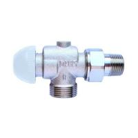 Термостатический клапан ГЕРЦ-TS-98-VH, угловой, осевой специальный