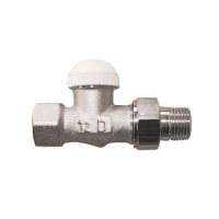 HERZ-TS-90-KV thermostatic valve - straight model, dimension 1/2