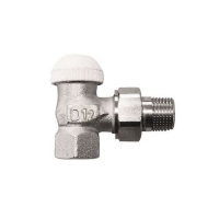 HERZ-TS-90-KV thermostatic valve - angle model, dimension 1/2