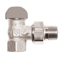HERZ-TS-90-E thermostatic valve - angle model