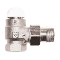 Термостатический клапан ГЕРЦ TS-E, угловой