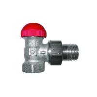 Термостатический клапан HERZ-TS-90-V, угловой