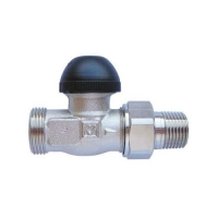 HERZ-TS-90 H thermostatic valve - straight model