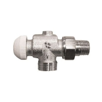 HERZ-TS-90 thermostatic valve - reverse angle model