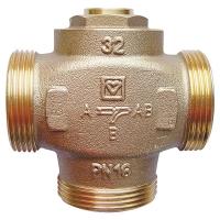 Трехходовой термосмесительный клапан TEPLOMIX, с плоским уплотнением