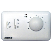 HERZ-Klimaregler Comfort Elektronischer Raumthermostat für Fan Coil