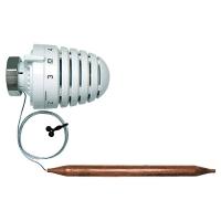 HERZ-Thermostatkopf mit Anlege- bzw. Tauchfühler M28 x 1,5