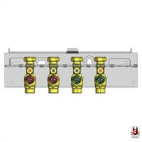 Vormontagekonsole für HERZ Durchlauferhitzer
