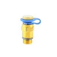 Test point for HERZ-STRÖMAX commissioning valves