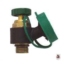 Draining valve