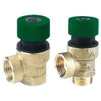 HERZ safety valve for sanitary systems