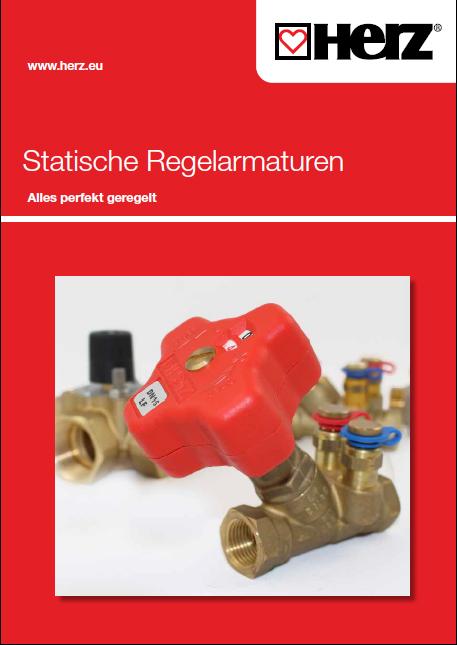 Statische Regelarmaturen