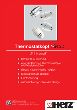 Thermostatkopf <br>Mini