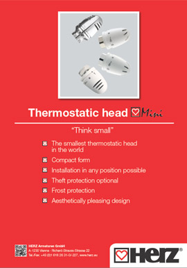 Thermostatic <br> head Mini